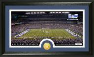 Indianapolis Colts Stadium Bronze Coin Panoramic Photo Mint