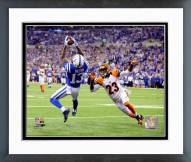 Indianapolis Colts T.Y. Hilton 2014 Playoff Action Framed Photo