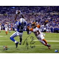 "Indianapolis Colts T.Y. Hilton Falling Backwards Catch Signed 16"" x 20"" Photo"