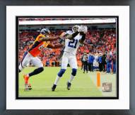 Indianapolis Colts Vontae Davis 2014 Playoff Action Framed Photo