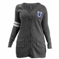 Indianapolis Colts Women's Gray Varsity Cardigan