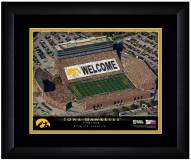Iowa Hawkeyes 13 x 16 Personalized Framed Stadium Print