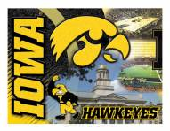 "Iowa Hawkeyes 15"" x 20"" Printed Canvas"
