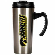 Iowa Hawkeyes 16 oz. Stainless Steel Travel Mug