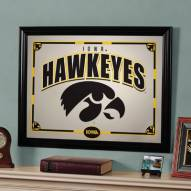 "Iowa Hawkeyes 23"" x 18"" Mirror"