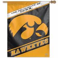 """Iowa Hawkeyes 27"""" x 37"""" Banner"""