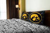 Iowa Hawkeyes Anthem Full Bed Sheets