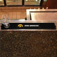 Iowa Hawkeyes Bar Mat