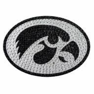 Iowa Hawkeyes Bling Car Emblem