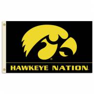 Iowa Hawkeyes Premium 3' x 5' Flag