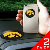Iowa Hawkeyes Cell Phone Grips - 2 Pack