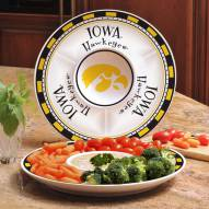 Iowa Hawkeyes Ceramic Chip and Dip Serving Dish