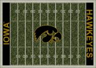 Iowa Hawkeyes College Home Field Area Rug