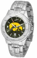 Iowa Hawkeyes Competitor Steel AnoChrome Men's Watch