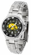 Iowa Hawkeyes Competitor Steel AnoChrome Women's Watch - Color Bezel
