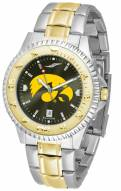 Iowa Hawkeyes Competitor Two-Tone AnoChrome Men's Watch