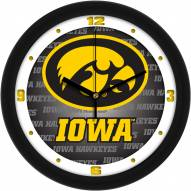 Iowa Hawkeyes Dimension Wall Clock