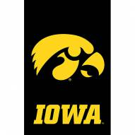 Iowa Hawkeyes Double Sided Applique Garden Flag