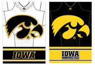 Iowa Hawkeyes Double Sided Jersey Flag