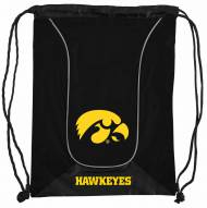 Iowa Hawkeyes Doubleheader Drawstring Bag