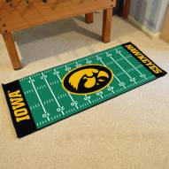 Iowa Hawkeyes Football Field Runner Rug