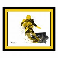 Iowa Hawkeyes Framed Silhouette Art