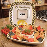 Iowa Hawkeyes Gameday Chip N Dip Dish