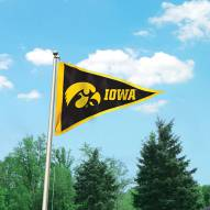 Iowa Hawkeyes Giant Pennant Flag