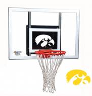Iowa Hawkeyes Goalsetter Junior Wall Mount Basketball Hoop