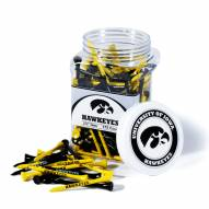 Iowa Hawkeyes 175 Golf Tee Jar