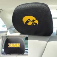 Iowa Hawkeyes Headrest Covers