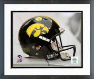 Iowa Hawkeyes Helmet Framed Photo