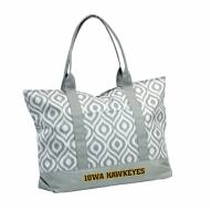 Iowa Hawkeyes Ikat Tote Bag