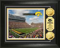 Iowa Hawkeyes Kinnick Stadium 24KT Gold Coin Photomint