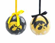 Iowa Hawkeyes LED Boxed Ornament Set