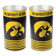 Iowa Hawkeyes Metal Wastebasket