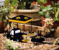 Iowa Hawkeyes Mini Tailgate Garden Set