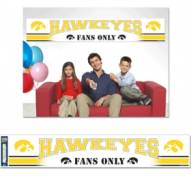 Iowa Hawkeyes Party Banner