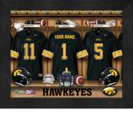 Iowa Hawkeyes Personalized 11 x 14 Framed Photograph