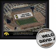 Iowa Hawkeyes Personalized Framed Stadium Print