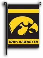 Iowa Hawkeyes Premium 2-Sided Garden Flag