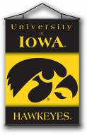"Iowa Hawkeyes Premium 28"" x 40"" Indoor Banner Scroll"