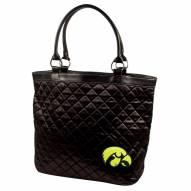 Iowa Hawkeyes Quilted Tote Bag