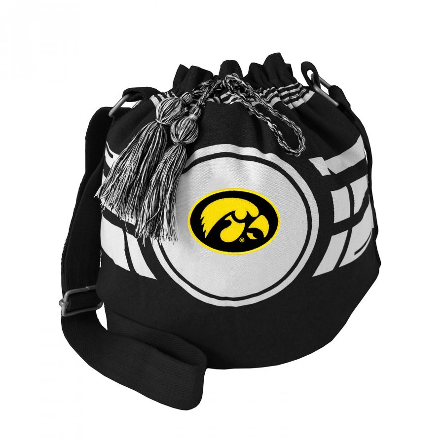 Iowa Hawkeyes Ripple Drawstring Bucket Bag