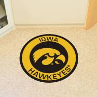 Iowa Hawkeyes Rounded Mat