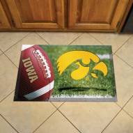Iowa Hawkeyes Scraper Door Mat