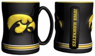 Iowa Hawkeyes Sculpted Relief Coffee Mug