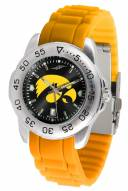Iowa Hawkeyes Sport Silicone Men's Watch