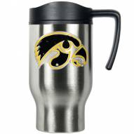 Iowa Hawkeyes Stainless Steel Travel Mug
