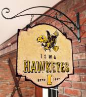 Iowa Hawkeyes Tavern Sign